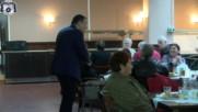 Пенсионери от Община Несебър бяха уважени от кмета Николай Димитров на празника си