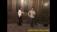 Salsa Dance  - Урок № 5 - Extended Beginner Salsa Lesson