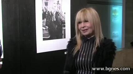 Лили Иванова - интервю Бгнс преди концерт в Арена Армеец
