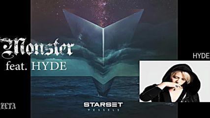 Starset - Monster feat. Hyde bg subs