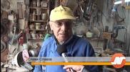 80-годишен точилар крепи занаята в Силистра