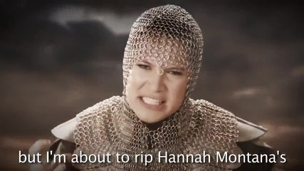 Miley Cyrus vs Joan of Arc. Epic Rap Battles