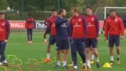 Кейн ще изведе Трите лъва с капитанската лента срещу Словения
