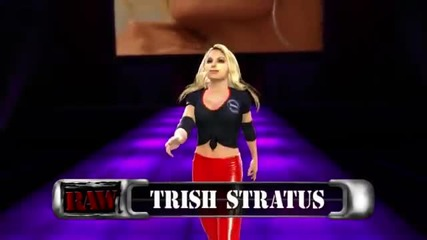 Trish Stratus Makes Her Entrance In Wwe '13 ( Official)