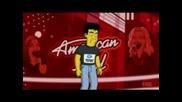 Семейство Симсънс Във Music Idol!!!