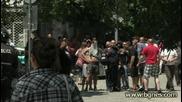 """""""червени"""" ултраси трошат и бият в центъра на София"""