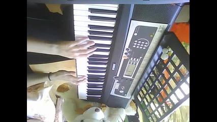 Rbd-y no puedo olvidarte Full Song on piano by me