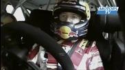Crash Loeb et Ogier rallye Australie Wrc 2011