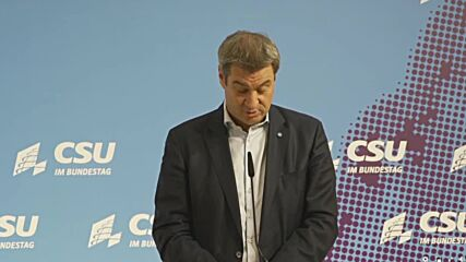 Germany: 'Scholz currently has the best chances of becoming chancellor' - CSU leader Soder