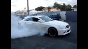 Mercedes Cls63 Burnout