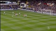Тотнъм - Манчестър Юнайтед 0:0 /първо полувреме/