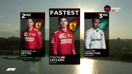 Петъчна доминация от Льоклер и Ферари в Баку