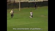 Нереален гол в ниските дивизии на Италия!