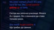 Аз уча английски език . Сезон 6, епизод 271, Читанка на български