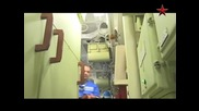 Изстрелване на Мбр Булава от атомна подводница Юрий Долгорукий