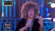 Петя Буюклиева като Tina Turner - ''Golden Eye'' | Като две капки вода