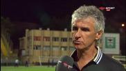 Иван Колев след победата с 3:0 над Пирин