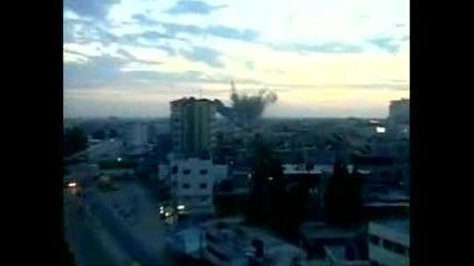 Израелските сили не атакуват граждански цели в Газа