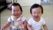 Много зарибен детски смях