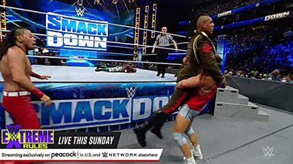 King Nakamura vs. Apollo Crews – Intercontinental Title Match: SmackDown, Sept. 24, 2021