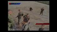 Атака российских войск на пост