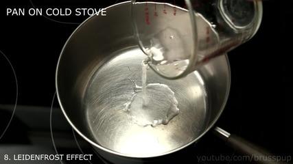 10 невероятни трика с течности