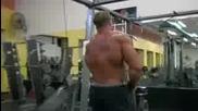 Jay Cutler Тренира Гръб