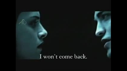 New Moon - Edward Leaves Bella (twilight Footage)