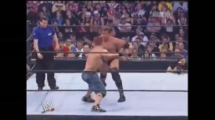Джон Сина печели първата си титла на Федерацията