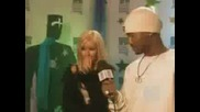 Christina Aguilera & Eminem - Backstage Interview - Mtv Europe Music Video Awards 1999