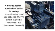 Restoring Discarded Lead-acid Batteries
