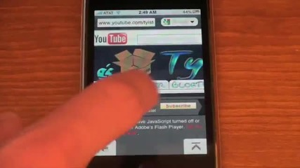 Mini Opera browser at Iphone !