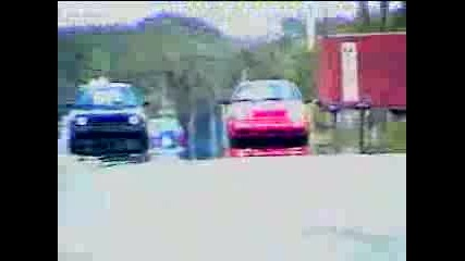 Golf2 Vs Golf3 Street Race