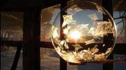 Сапунени балончета замръзват при -40 градуса
