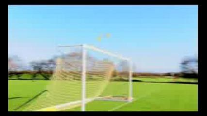 Забавна тренировка с Neville, Giggs, Rooney and Fletcher