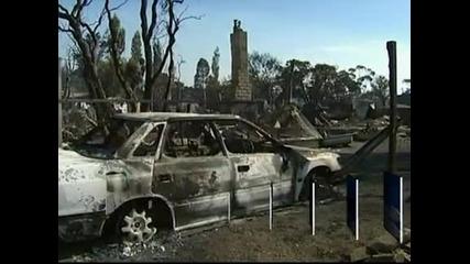 Горски пожари в Австралия унищожиха над 100 къщи