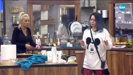 Мисията невъзможна: Албена Вулева се опитва да готви - Big Brother: Most Wanted 2018