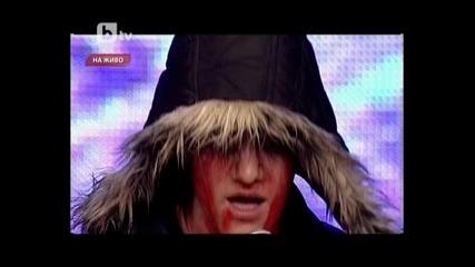 Неповторимия фен на Лейди Гага (полуфинал България търси талант2)17.04.2012