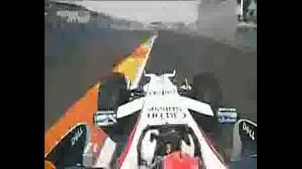 Valencia Street Circuit Onboard F1 Kubica