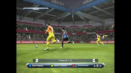 Amazing Goal on Pes 13 *pazzini*