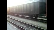 43 515 с товарен влак през гара Пловдив.
