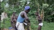 африканци играят кючек (100%смях)