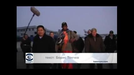 Денис Родман отново е в Северна Корея