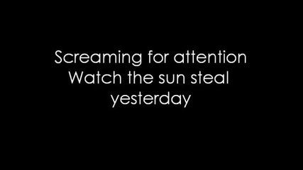12 Stones - Waiting For Yesterday (lyrics)