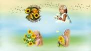 Чудесно е,когато е лято! ... ( Wiesława Dudkowiak - Accordion Music) ... (animation)