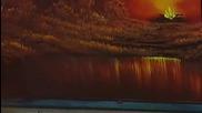 S03 Радостта на живописта с Bob Ross E10 - лагерен огън ღобучение в рисуване, живописღ