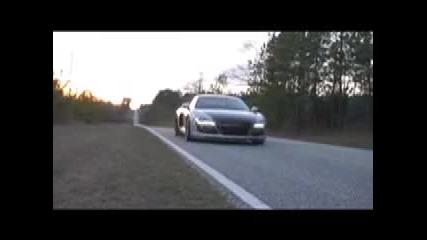 Тест Драйв с Audi R8 [high Quality]