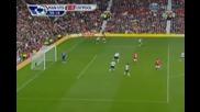 Бербатов гол задна ножица, Man United 2 - 0 Liverpool