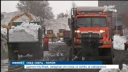 Щатът Ню Йорк, затрупан от снега, се готви за наводнение