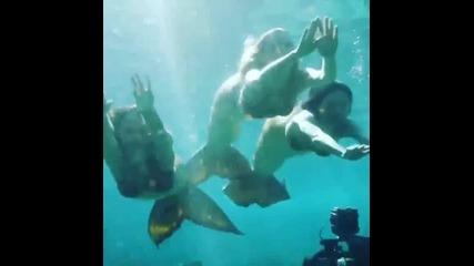 Русалките от Мако - сезон 3 първата подводна сцена